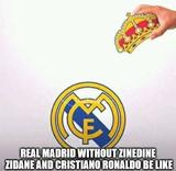 Real madrid funny memes